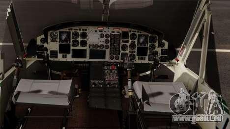 Bell UH-1N NAJA für GTA San Andreas rechten Ansicht