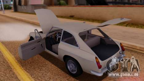 MGB GT (ADO23) 1965 FIV АПП pour GTA San Andreas vue de côté