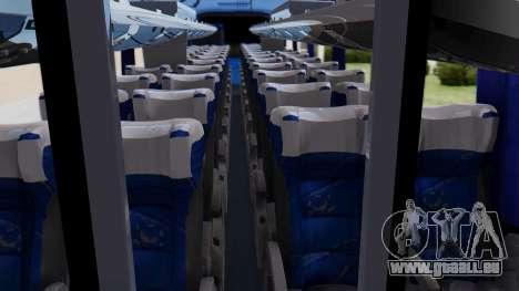 Marcopolo Bus Caribbean Travel pour GTA San Andreas vue de droite