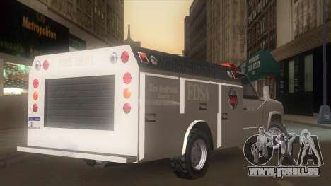 FDSA Fire Van für GTA San Andreas linke Ansicht