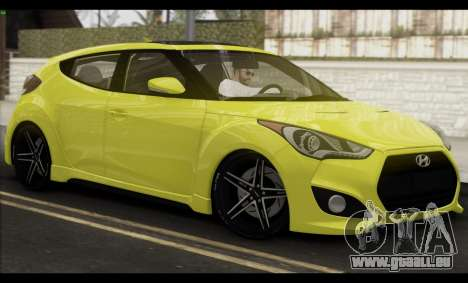 Hyundai Veloster 2012 für GTA San Andreas obere Ansicht