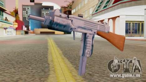 IMI Uzi v2 SA Style für GTA San Andreas