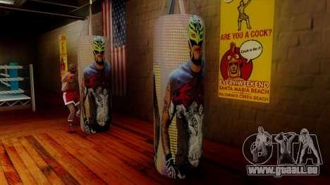La poire avec Rey Mysterio pour GTA San Andreas deuxième écran