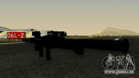 Homing Rocket Launcher pour GTA San Andreas troisième écran