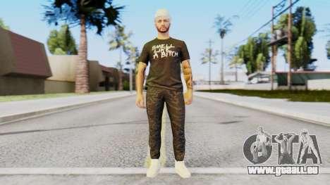 Personalized Skin from GTA Online pour GTA San Andreas deuxième écran