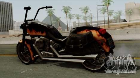Freeway Diablo pour GTA San Andreas sur la vue arrière gauche