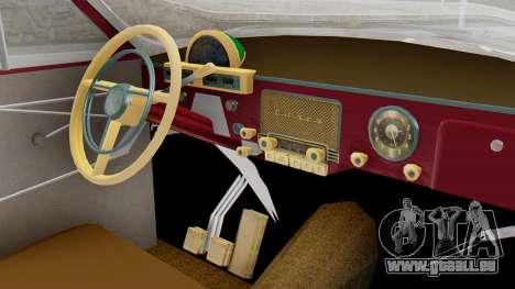 GAZ 21 Volga v2 pour GTA San Andreas vue de droite