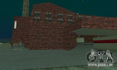 La compagnie pétrolière LUKOIL pour GTA San Andreas deuxième écran