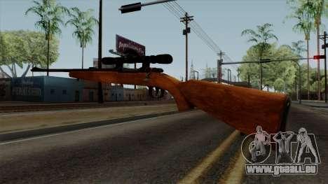 Original HD Sniper Rifle pour GTA San Andreas troisième écran