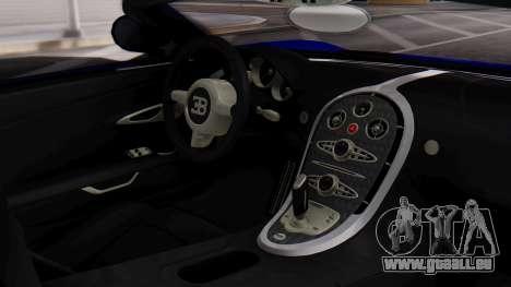 GTA 5 Truffade Adder Convertible pour GTA San Andreas vue de droite