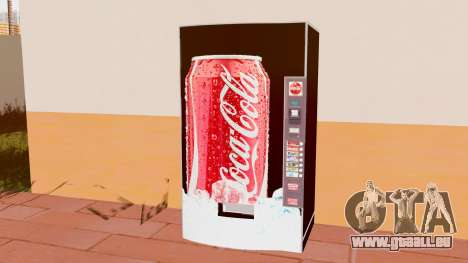 Le Coca-Cola Machine pour GTA San Andreas