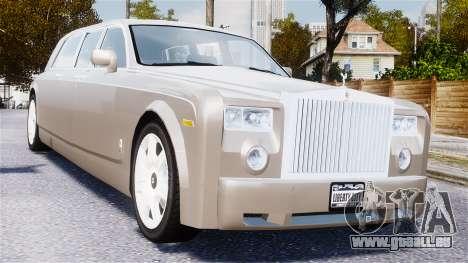 Rolls-Royce Phantom LWB für GTA 4 Innenansicht