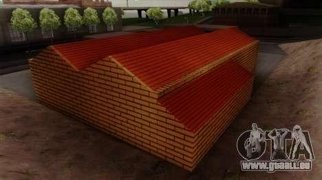 De nouvelles textures de l'ancien garage de Dohe pour GTA San Andreas cinquième écran