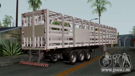 Trailer Rejas Gas pour GTA San Andreas laissé vue