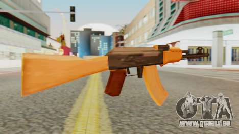 AK-74 SA Style für GTA San Andreas zweiten Screenshot