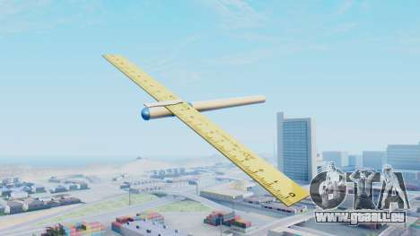 Fantastisches Flugzeug für GTA San Andreas