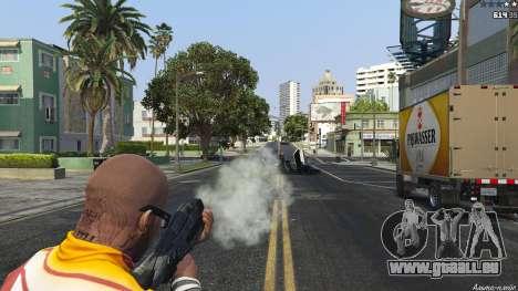 GTA 5 M-8 Avenger из Mass Effect 2 septième capture d'écran