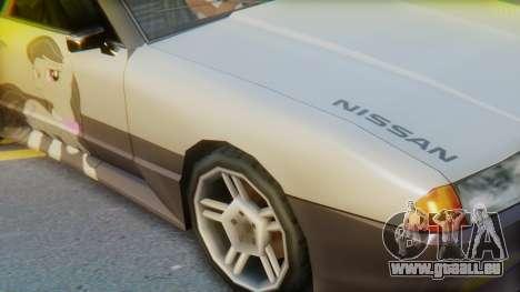Elegy Octavia Pony Vinyl pour GTA San Andreas sur la vue arrière gauche