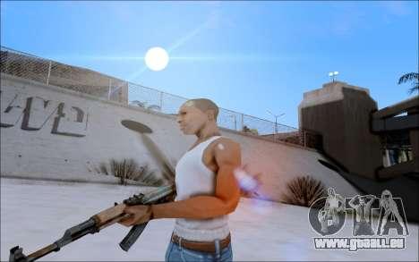 AK-47 Soviet für GTA San Andreas zweiten Screenshot