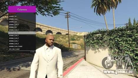 GTA 5 Le Gestionnaire de scènes coupées troisième capture d'écran