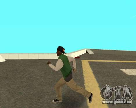 Le petit nouveau sur le bloc de grove Street pour GTA San Andreas troisième écran