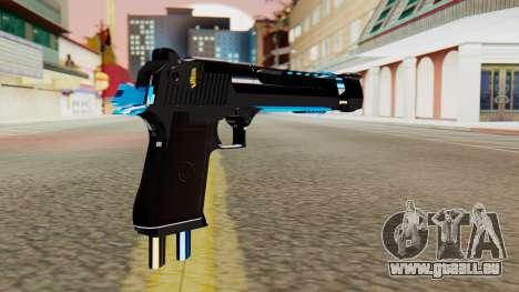 Fulmicotone Desert Eagle pour GTA San Andreas deuxième écran