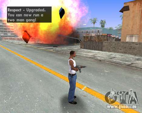 Blood Effects pour GTA San Andreas cinquième écran