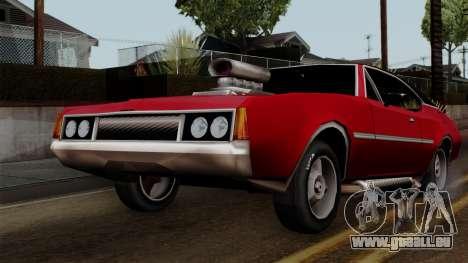 Muscle-Clover Beta v2 pour GTA San Andreas vue intérieure