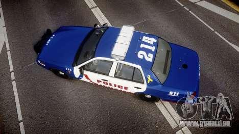 Ford Crown Victoria Alderney Police [ELS] pour GTA 4 est un droit