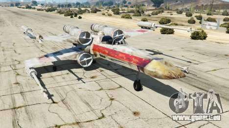 X-wing T-65 v1.1 pour GTA 5