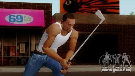Original HD Golf Club pour GTA San Andreas