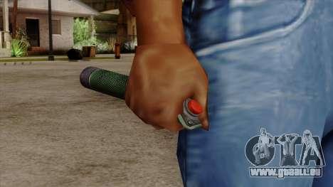 Original HD Bomb Detonator pour GTA San Andreas troisième écran