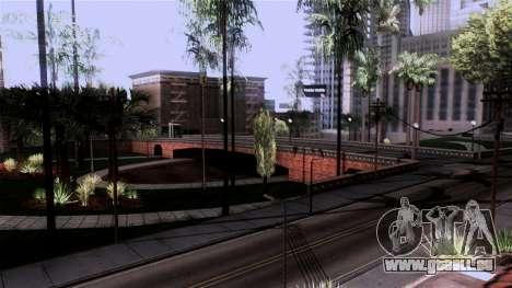 New Glen Park pour GTA San Andreas troisième écran
