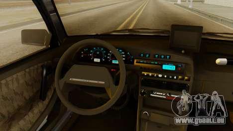 VAZ 2115 DPS für GTA San Andreas Rückansicht