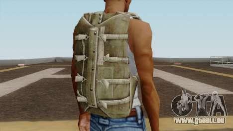 Original HD Parachute pour GTA San Andreas troisième écran