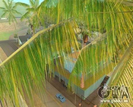Des palmiers à partir de Crysis pour GTA San Andreas deuxième écran
