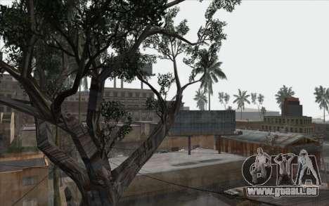 Les arbres à partir de WarFace pour GTA San Andreas sixième écran