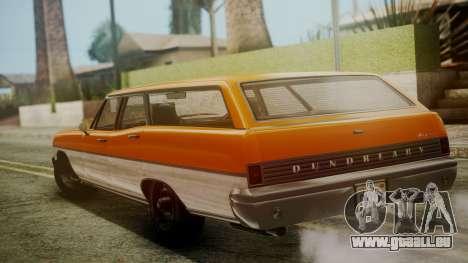 GTA 5 Dundreary Regina für GTA San Andreas linke Ansicht