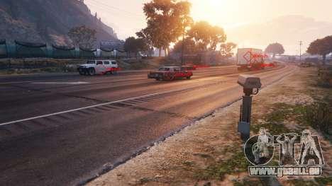 La Police radar v1.1 pour GTA 5