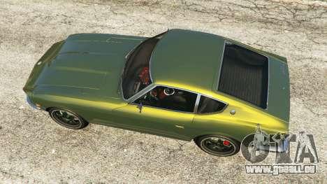 GTA 5 Datsun 240Z Rückansicht