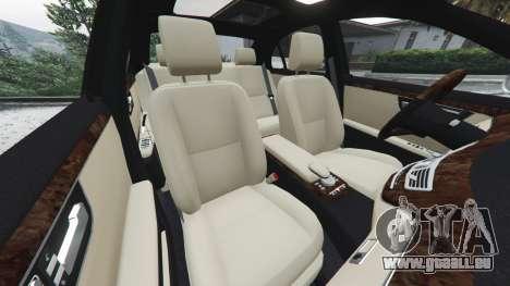 GTA 5 Mercedes-Benz S500 W221 v0.3 [Alpha] avant droite vue de côté