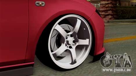 Seat Leon Cupra Static für GTA San Andreas zurück linke Ansicht