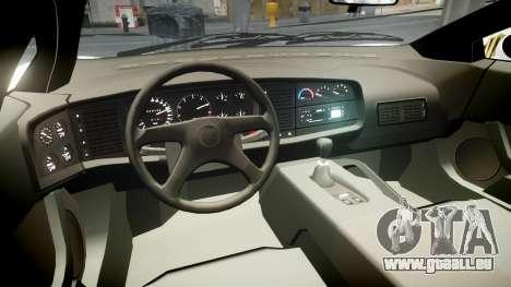 Jaguar XJ220 1992 [EPM] Martini für GTA 4 Rückansicht
