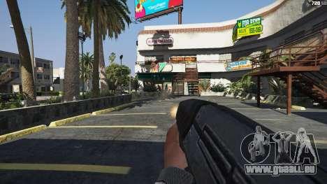 GTA 5 M-8 Avenger из Mass Effect 2 quatrième capture d'écran