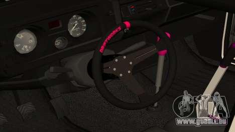 VAZ 2105 BC v2.0 für GTA San Andreas Innenansicht