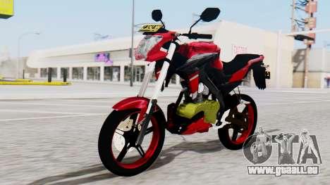 Yamaha Vixion Advance pour GTA San Andreas