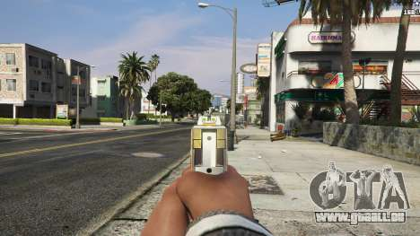 Asiimov Pistol.50 für GTA 5