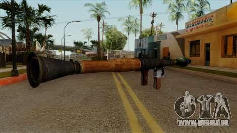 Original HD Rocket Launcher pour GTA San Andreas deuxième écran
