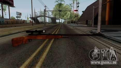 Original HD Sniper Rifle pour GTA San Andreas deuxième écran