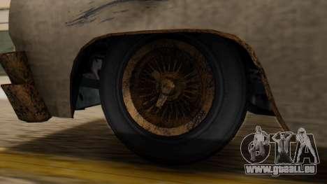 GTA 5 Declasse Voodoo Worn IVF pour GTA San Andreas sur la vue arrière gauche